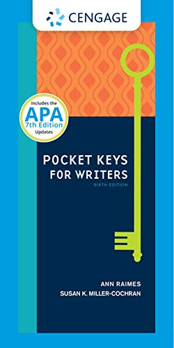 Pocket Keys for Writers with APA Updates, Spiral bound Version (Keys for Writers Series)