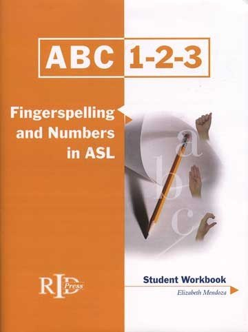 Harris Communications BDVD192 ABC-123 Finger Spelling and Numbers in ASL - Student