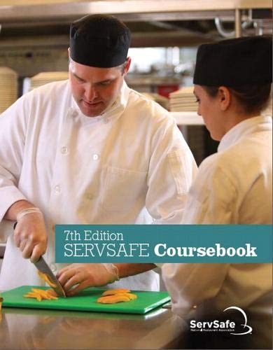ServSafe CourseBook with Online Exam Voucher (7th Edition)
