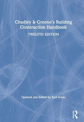 Chudley and Greeno's Building Construction Handbook