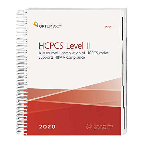 HCPCS 2020 Level II Expert (Spiral)