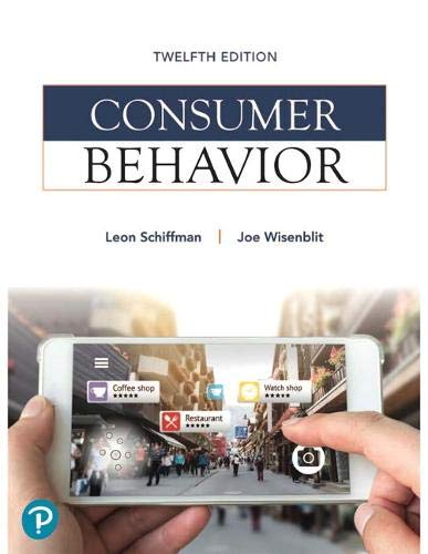 Consumer Behavior (What's New in Marketing)