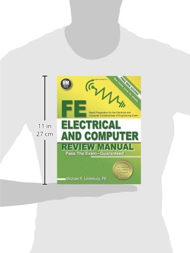 PPI FE Electrical and Computer Review Manual – Comprehensive FE Book for the FE Electrical and Computer Exam
