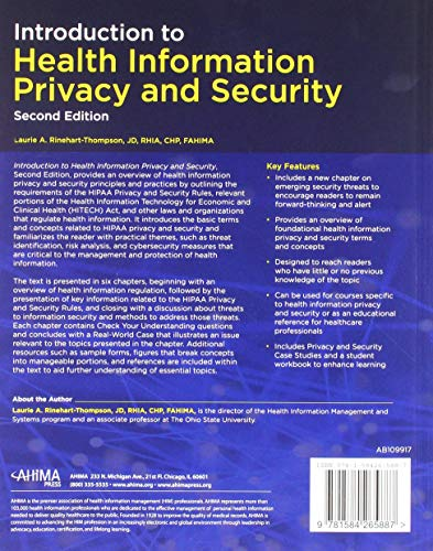 Introduction to Health Information Privacy & Security