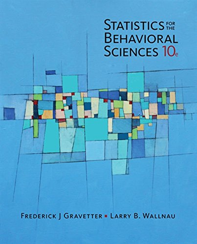 Statistics for the Behavioral Sciences - Standalone Book