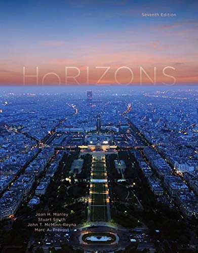 Horizons, Student Edition: Introductory French