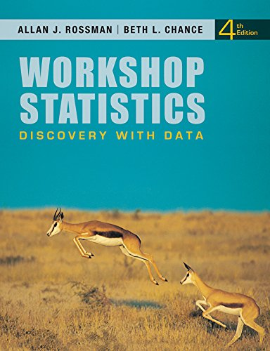 Workshop Statistics: Discovery with Data