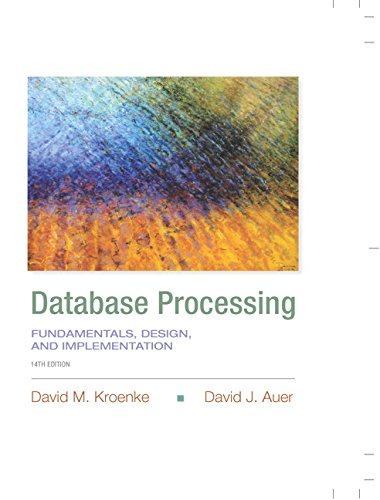 Database Processing: Fundamentals, Design, and Implementation (14th Edition) (Prentice-Hall Adult Education)