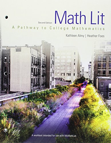 Math Lit plus MyMath Lab -- Access Card Package (Pathways Model for Math)