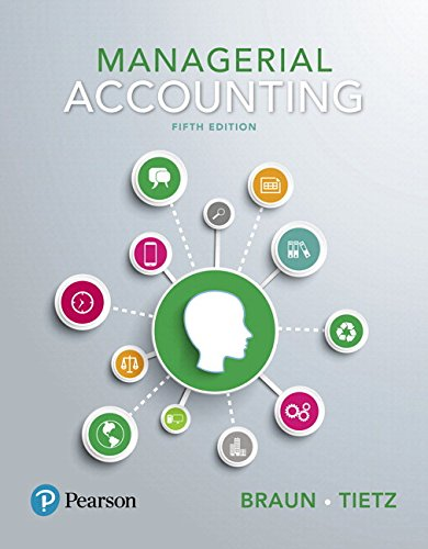 Managerial Accounting Plus MyLab Accounting with Pearson eText -- Access Card Package