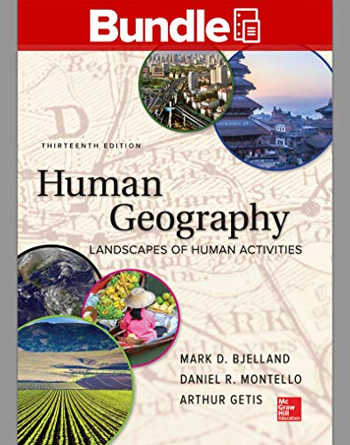 GEN COMBO LOOSELEAF HUMAN GEOGRAPHY; CONNECT ACCESS CARD