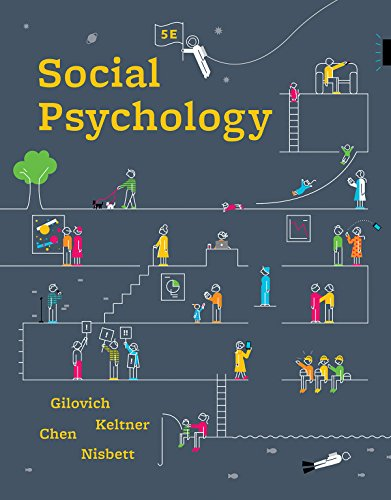 Social Psychology (Fifth Edition)