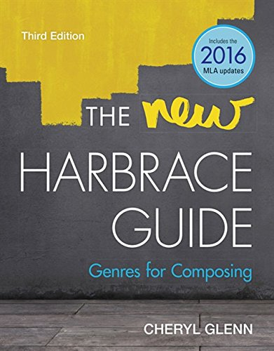 The New Harbrace Guide: Genres for Composing (with 2019 APA Updates)