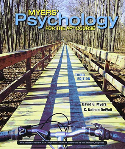 Myers' Psychology for the Ap(r) Course