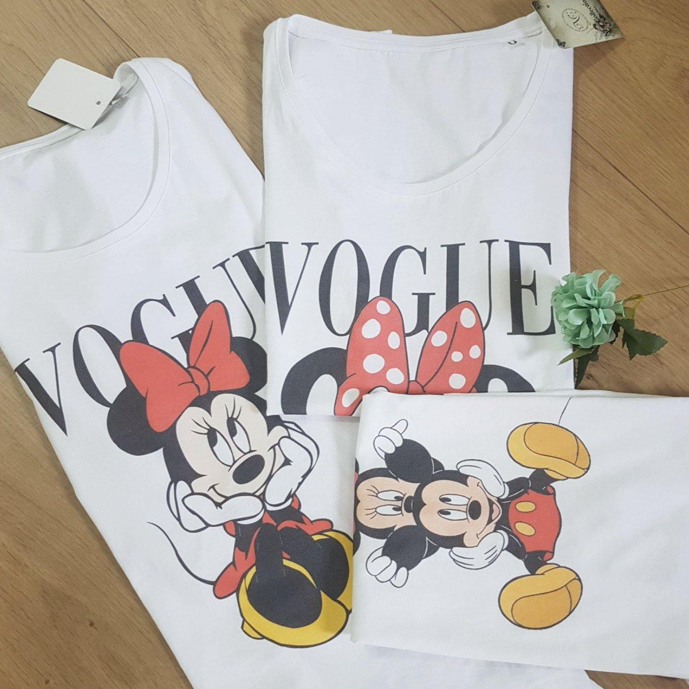 Camiseta larga Vogue Minnie - DELIRIOh