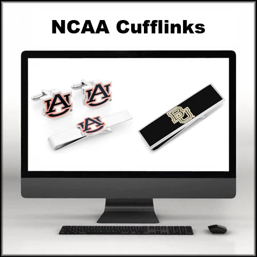NCAA Cuff-links, Lapel Pins, Money Clips, Tie Bars, and Tie Clips