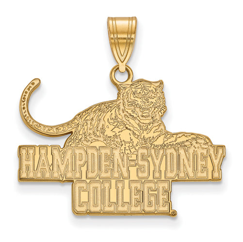 SS w/GP Hampden Sydney College Large Pendant