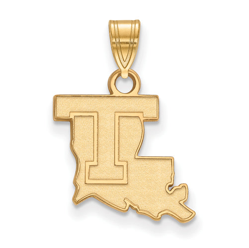 SS w/GP Louisiana Tech University Small Pendant
