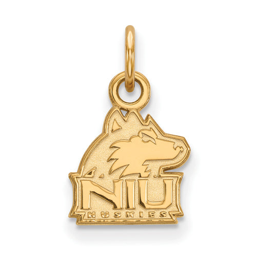 SS w/GP Northern Illinois U XS Husky Pendant