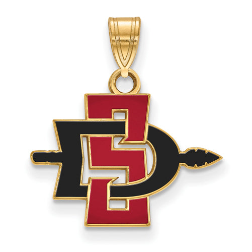 10ky San Diego State University Small Pendant