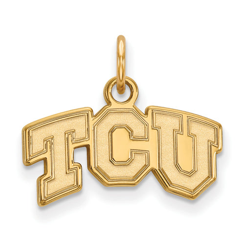 SS w/GP Texas Christian University XS TCU Pendant