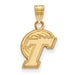 10ky Tulane University Small Pendant