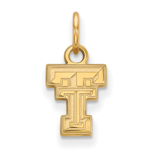 14ky LogoArt Texas Tech University XS Pendant