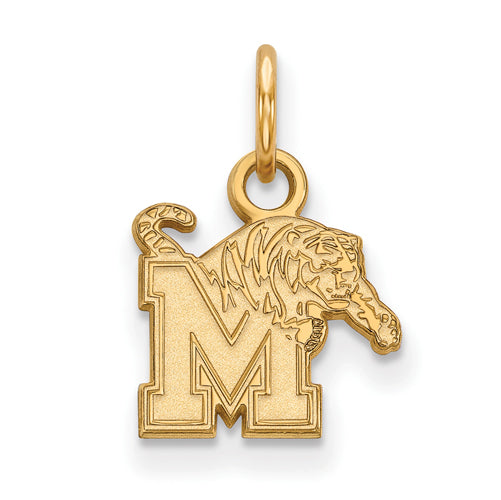 SS w/GP University of Memphis XS Tigers Pendant
