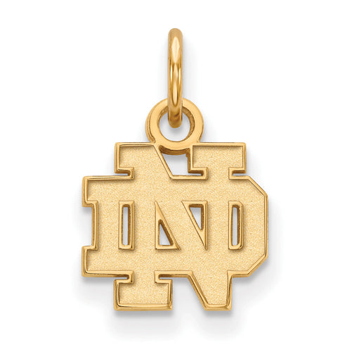 SS GP University of Notre Dame XS ND Pendant