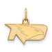 SS w/GP University of North Dakota XS Fighting Hawks Pendant
