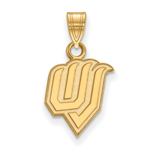 SS w/GP Utah Valley State Small Pendant