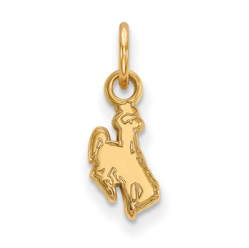 SS w/GP The University of Wyoming XS Cowboy Pendant