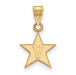 10ky Vanderbilt University Small V in Star Pendant
