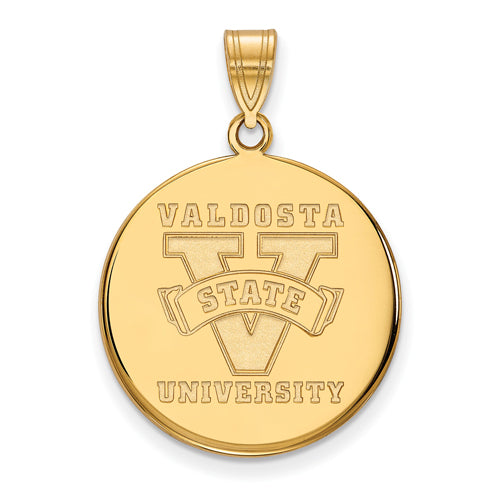 SS w/GP Valdosta State University Large Disc Pendant