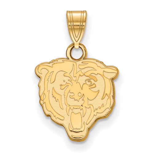 14ky Chicago Bears Small Pendant