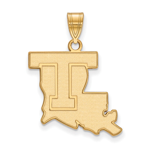 SS w/GP Louisiana Tech University Large Pendant