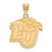 14ky LogoArt Liberty University Large Pendant