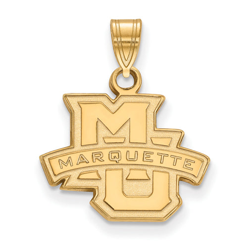 SS w/GP Marquette University Small Athletics Pendant
