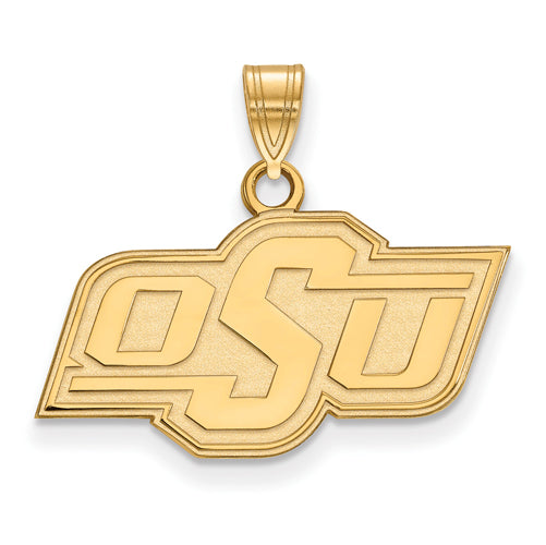 SS w/GP Oklahoma State University Small Pendant