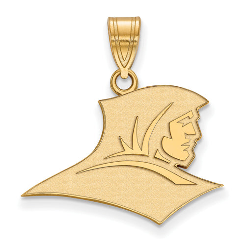 SS w/GP Providence College Medium Pendant
