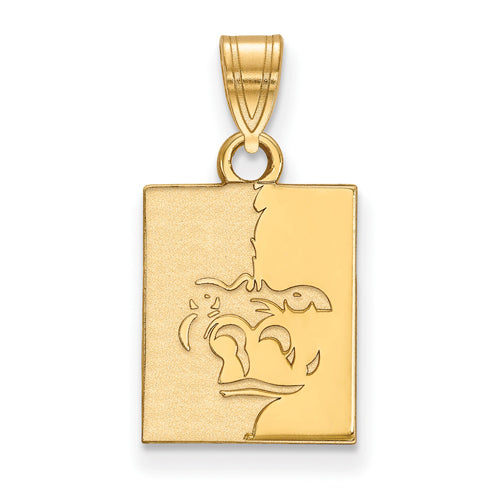 SS w/GP Pittsburg State University Small Pendant