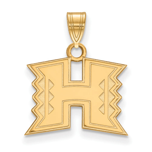 SS w/GP The University of Hawaii Small Pendant