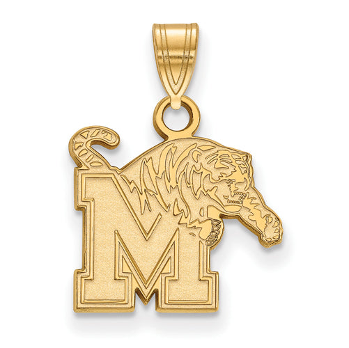 SS w/GP University of Memphis Small Tigers Pendant
