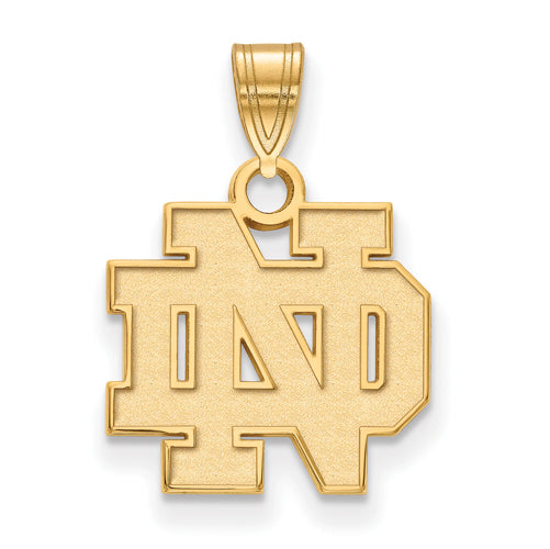 SS GP University of Notre Dame Small ND Pendant
