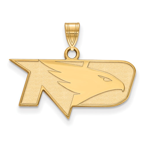 SS w/GP University of North Dakota Small Fighting Hawks Pendant