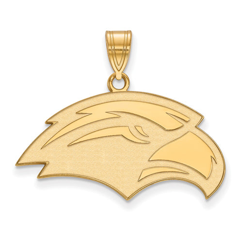 SS w/GP University of Southern Miss Medium Pendant