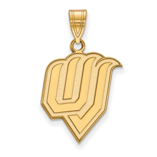 SS w/GP Utah Valley State Large Pendant