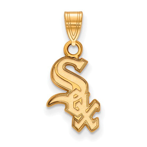 SS w/GP MLB  Chicago White Sox Small Pendant