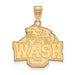 10ky Washington University in St. Louis Large Pendant