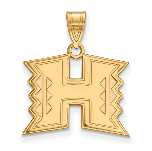 SS w/GP The University of Hawaii Medium Pendant